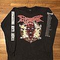 Dismember - TShirt or Longsleeve - Dismember - Dismembering North America long sleeve