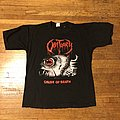 Obituary- Cause Of Death North American tour shirt