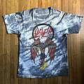 Slayer - Crucified Satan Batik tie dye shirt