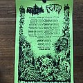 Fetid - Cerebral Rot tour poster  Other Collectable