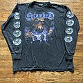 Entombed - TShirt or Longsleeve - Entombed - Clandestine W/ Cthulhu back print longsleeve
