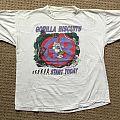 """Gorilla Biscuits """"Start Today"""" 1989 European Tour T-Shirt"""
