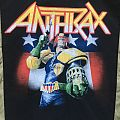 Anthrax - Patch - Anthrax - Judge Dredd Backpatch