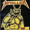 Metallica Jump in the Fire vintage rubber back patch
