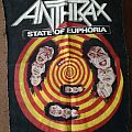 Anthrax - State of Euphoria backpatch