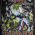 Iron Maiden Live After Death rubber patch