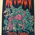 Autopsy - Mental Funeral Backpatch 1991