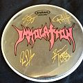 Immolation - Tour 2016 Drum Head Other Collectable