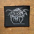 Darkthrone - logo patch