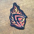 Fear Factory - Flames logo Patch