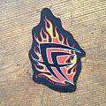 Fear Factory - Patch - Fear Factory - Flames logo