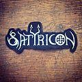 Satyricon - Patch - Satyricon – Logo patch