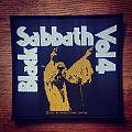 Black Sabbath - Patch - Black Sabbath – Vol. 4 patch