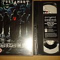 Testament Seen Between the Lines Autographed VHS Tape / Vinyl / CD / Recording etc