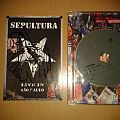 Sepultura Live in Sao Paulo Autographed DVD Tape / Vinyl / CD / Recording etc