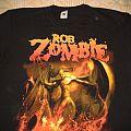 Rob Zombie Tour Shirt 2012