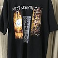 Meshuggah Destroy Erase Improve Euro Tour 95' OG shirt