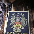 Vintage Dio World Tour Patch