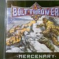 Bolt Thrower - Mercenary CD Tape / Vinyl / CD / Recording etc
