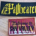 Pallbearer and Kyuss patches