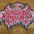Slaughter Messiah - Official Woven Logo Backpatch (Patch)