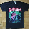 Destruction - Cracked Brain T- Shirt 2013 (Size M)