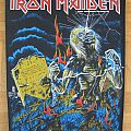 Iron Maiden - Patch - Iron Maiden - Live After Death Official Backpatch 1985 (Patch)