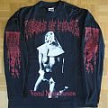 Cradle Of Filth - Vestal Masturbation / Jesus Is A Cunt Longsleeve 1998 (Size XL) TShirt or Longsleeve