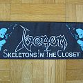 Venom - Skeletons In The Closet Super Strip Patch