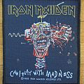 Iron Maiden - Patch - Iron Maiden - Can I Play With Madness Patch 1988