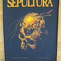 Sepultura - Beneath The Remains Official Backpatch 1990 (Patch)