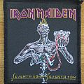 Iron Maiden - Patch - Iron Maiden - Seventh Son Of A Seventh Son Patch 1988