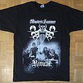 Master's Hammer - Ritual / 30 Years Of Occult Black T - Shirt (Size M)
