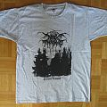 Darkthrone - Panzerfaust T- Shirt (Size M) white / grey