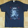 Watain -  Trident's Curse / Tour Europeae 2018 T - Shirt (Size M)