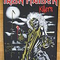 Iron Maiden - Patch - Iron Maiden - Killers Offical Backpatch 1981 (Patch)