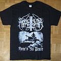 Marduk - Here's No Peace T- Shirt 2008 (Size M)