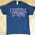 Cannibal Corpse - European Summer 2018 Tour T- Shirt (Size M)