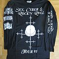 Impaled Nazarene, Sadistic Execution, Absu - Sex, Cyber & Rock N' Roll Tour 95 Longsleeve 1995 (Size XL)
