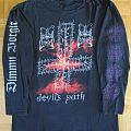 Dimmu Borgir - Devil's Path Longsleeve 1996 (Size XL) TShirt or Longsleeve