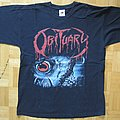 Obituary - Cause Of Death / Chopped In Half T- Shirt 2006? (Size M)