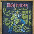 Iron Maiden - Piece Of Mind Patch 1984
