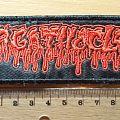 Agathocles - Patch - Agathocles logo patch