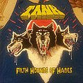 Tank - Filth Hounds of Hades blue shirt