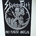 Skull Fist Backpatch