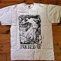FUCKED UP T shirt white size M