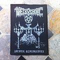 Necrophobic Patch 5 x 8 cm