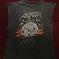 Anthrax persistence of time sleeveless 90