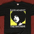Rage Against The Machine - TShirt or Longsleeve - RATM angela davis 00