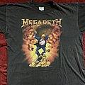 Megadeth tour 91 oxidation of nations